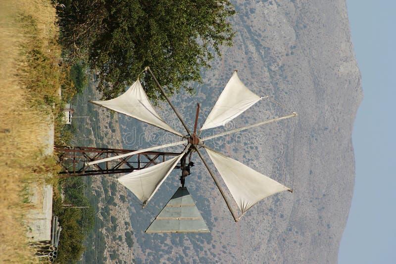 Free Crete / Rusty Windmill Royalty Free Stock Photos - 142028