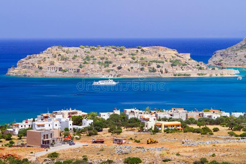 Download Crete Scenery With Spinalonga Island Stock Image - Image: 28601323