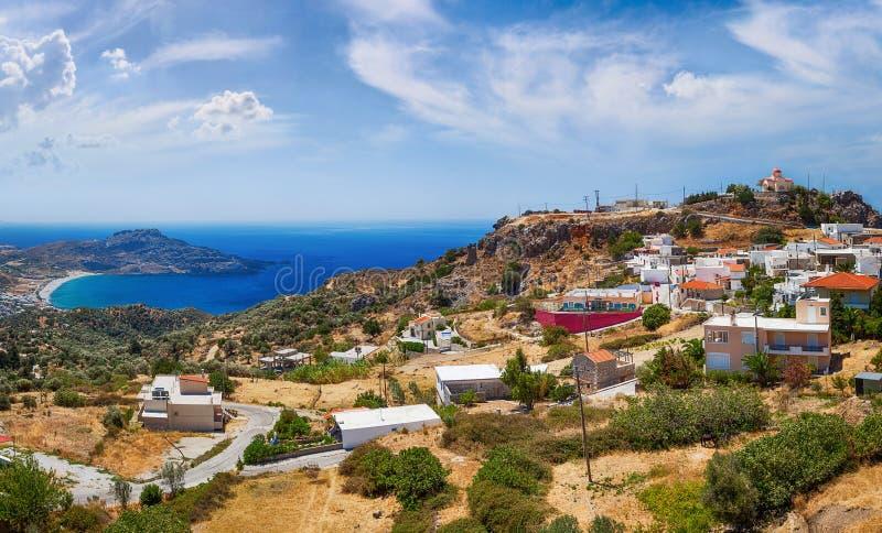 Crete wyspa w lecie. zdjęcia royalty free