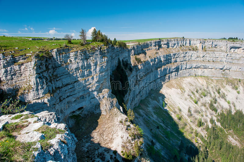 Download Creux du van stock photo. Image of neuchatel, rock, creux - 25580024