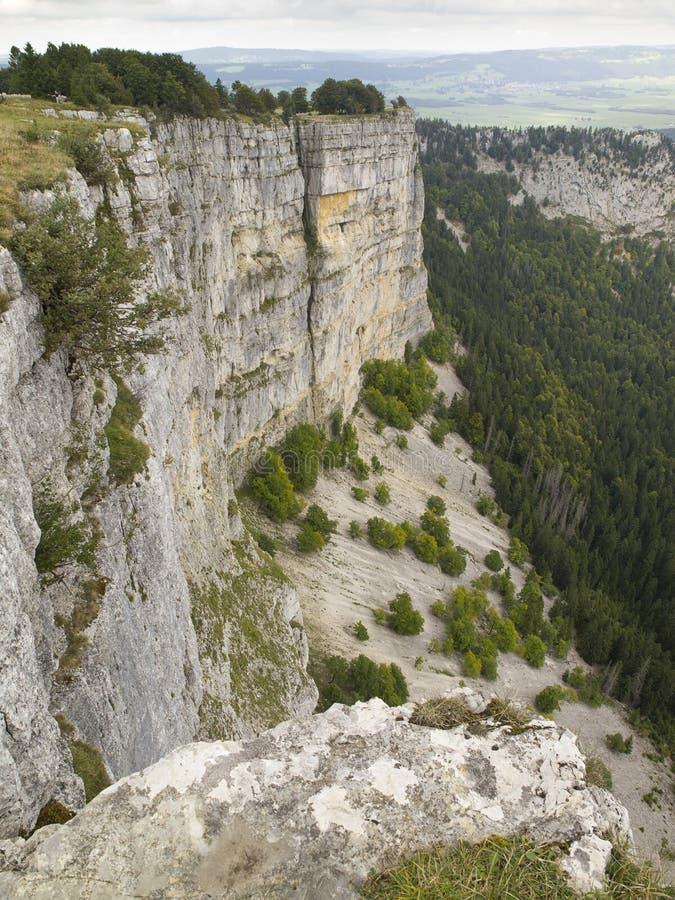 Download Creux du Van em Suíça foto de stock. Imagem de hiking - 29845674