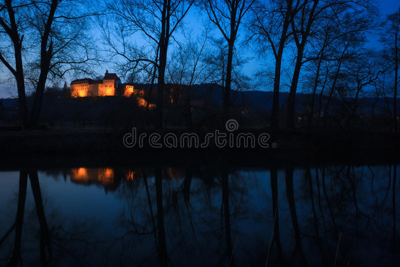 Creuzburg Castle στοκ εικόνες