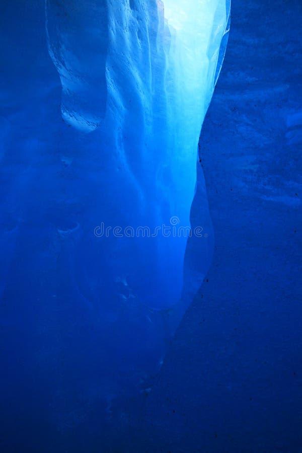 Crevasse de glace image libre de droits