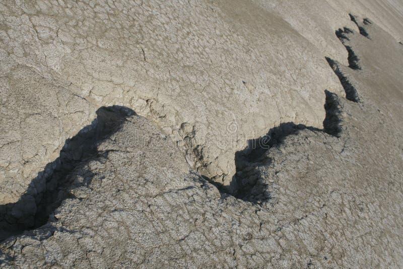 Crevasse Sur La Terre III Photo stock
