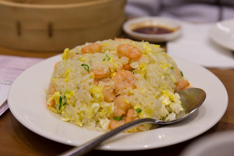 Crevette chinoise Fried Rice image stock