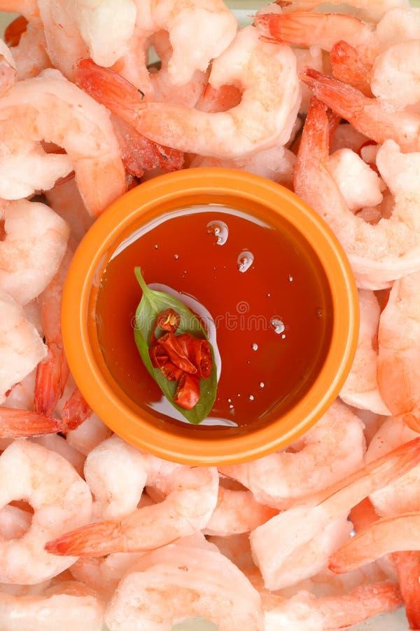 Crevettes de cocktail photographie stock