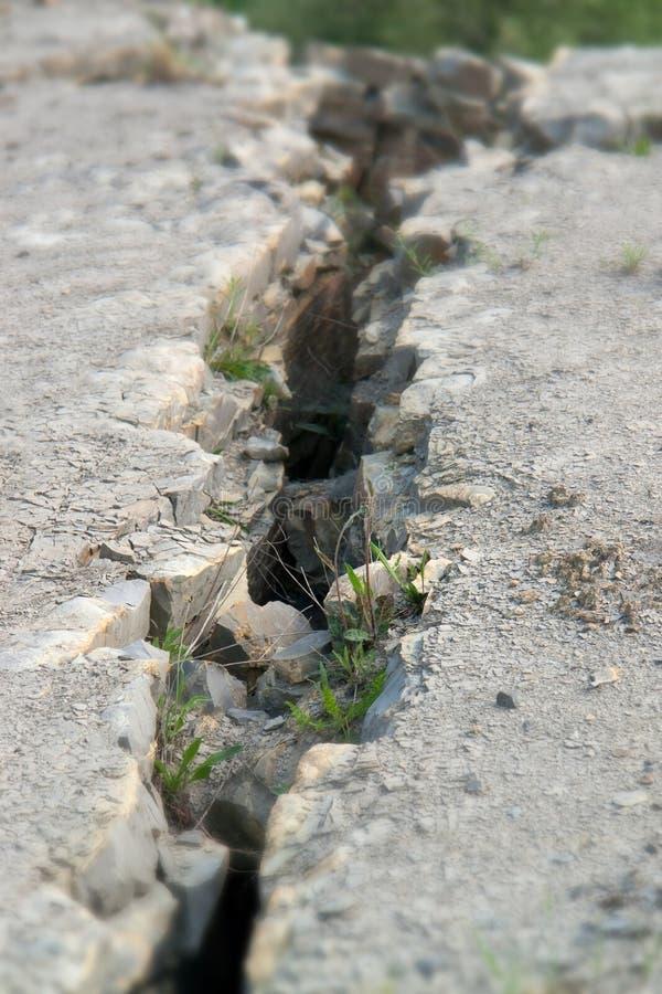 crevice стоковая фотография