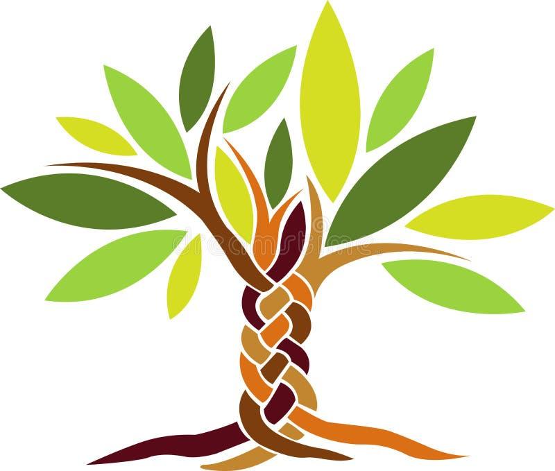 Crewel tree royalty free illustration