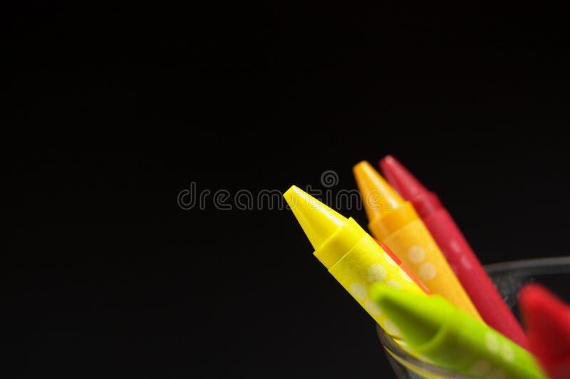 Creyón colorido imagen de archivo libre de regalías