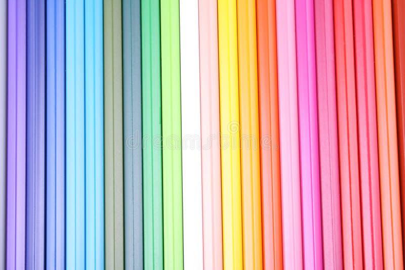 Creyones coloridos fotos de archivo libres de regalías