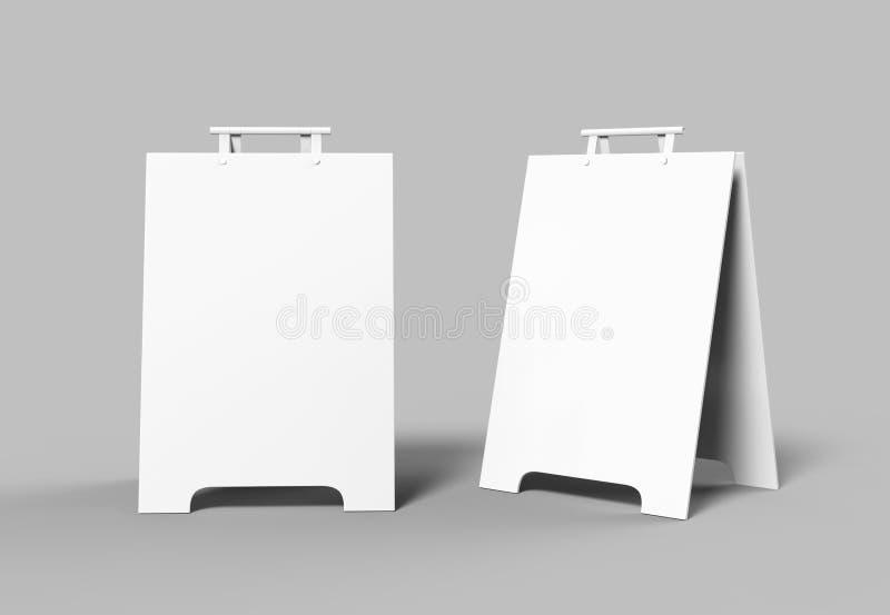 Crezon o i pettorali pubblicitari della Un-struttura del PVC per derisione di progettazione aumenta e la presentazione lo spazio  royalty illustrazione gratis