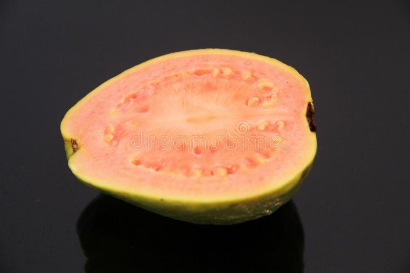 Red Guava delicious food healthful Sao Paulo Brazil royalty free stock images