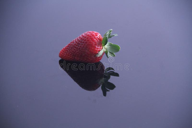 Strawberry food agriculture isolated vitamin delicious healthful fruit Sao Paulo Brazil royalty free stock photography