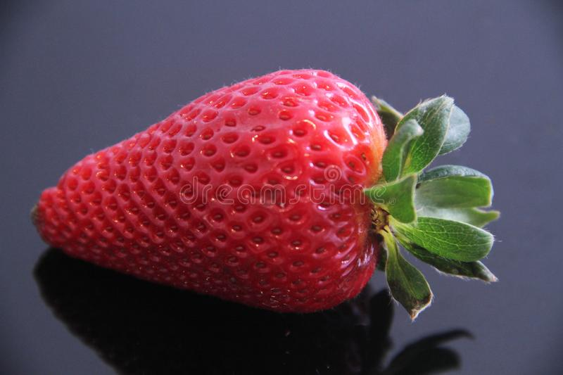 Strawberry food agriculture isolated vitamin delicious healthful fruit Sao Paulo Brazil stock image