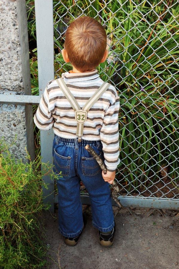 A criança foto de stock