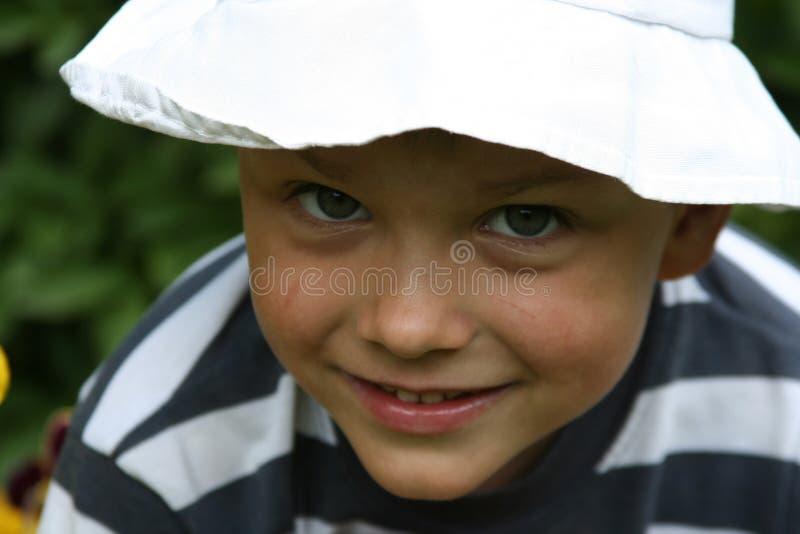 Download Criança foto de stock. Imagem de infância, miúdo, chapéu - 525228