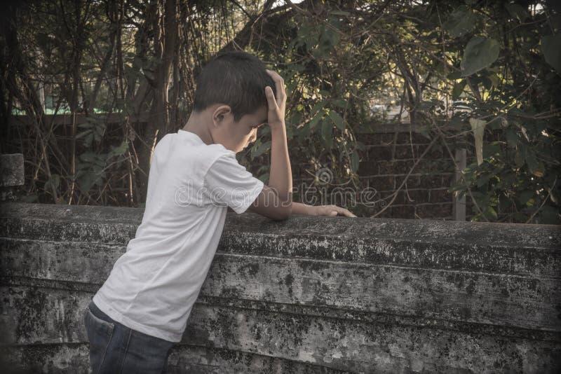 Criança abusada imagem de stock royalty free