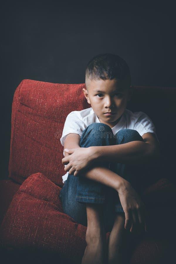 Criança abusada fotos de stock