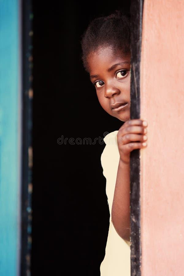 Criança africana fotografia de stock