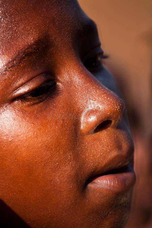 Criança africana imagem de stock