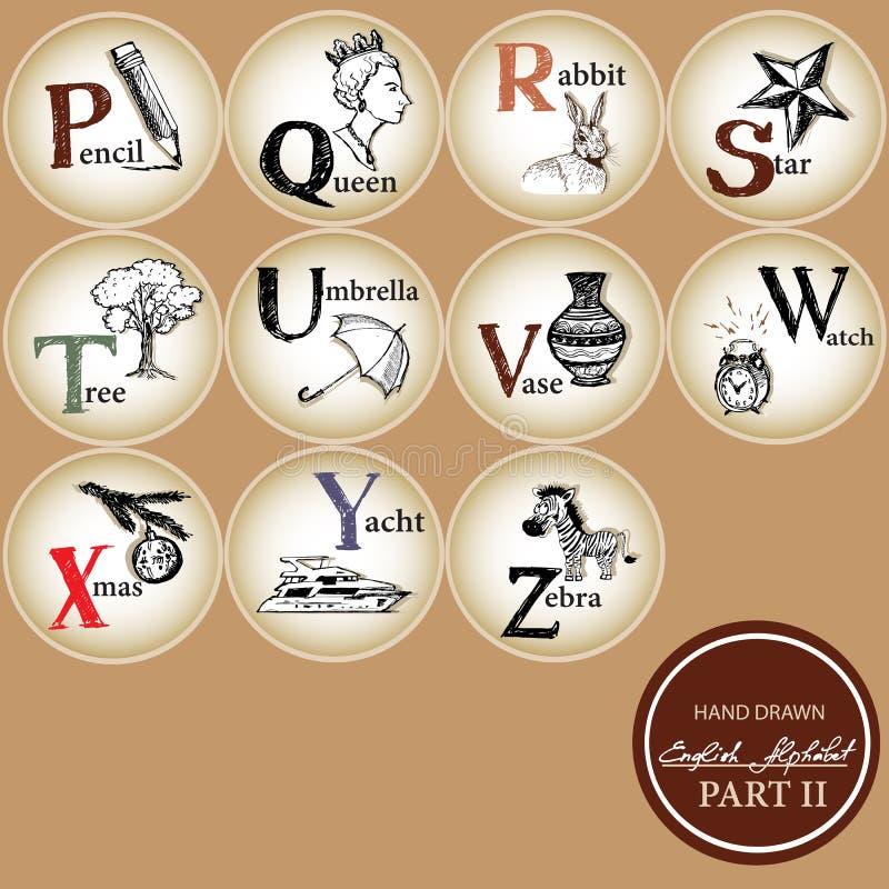 Criança alphabet-2 fotos de stock royalty free