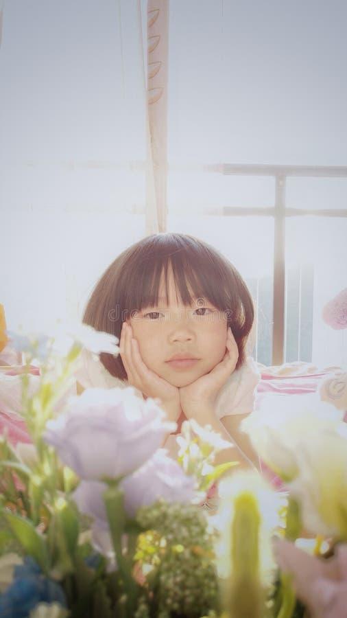 Criança asiática 2 da fantasia imagens de stock