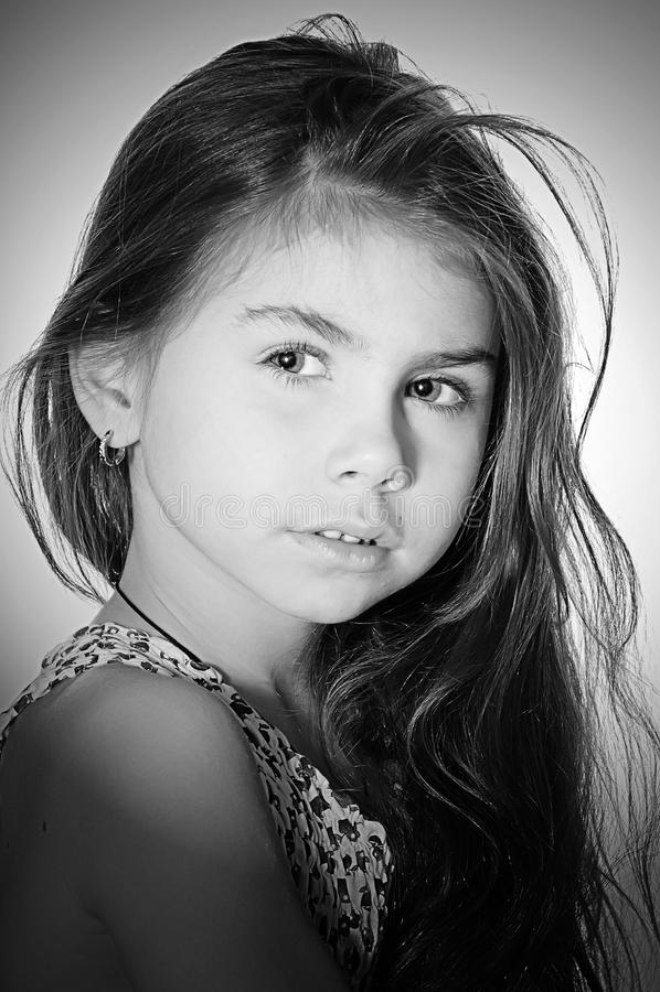 Criança bonita foto de stock royalty free