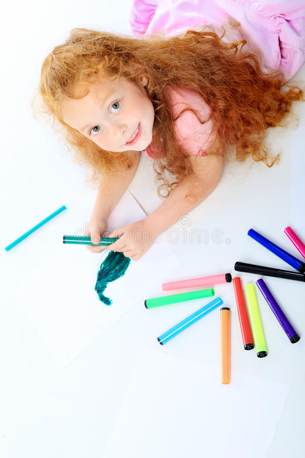 Criança bonito fotografia de stock