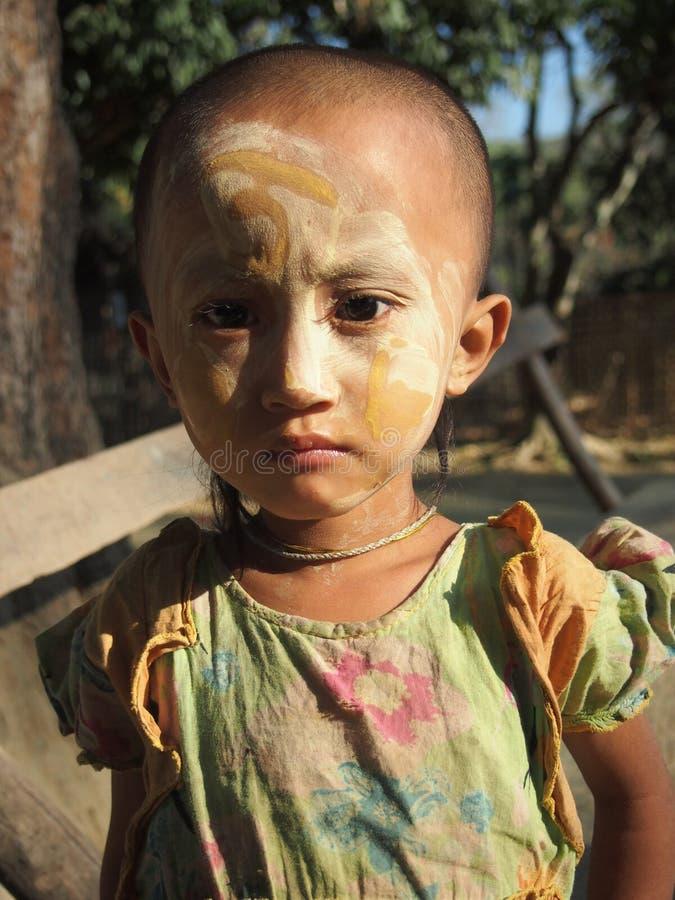 Criança Burma foto de stock royalty free