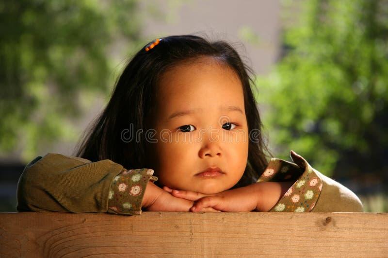 Criança coreana fotografia de stock royalty free