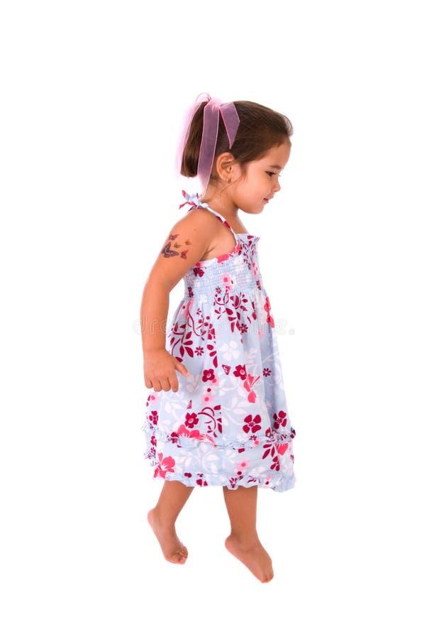 Criança da bailarina. imagens de stock