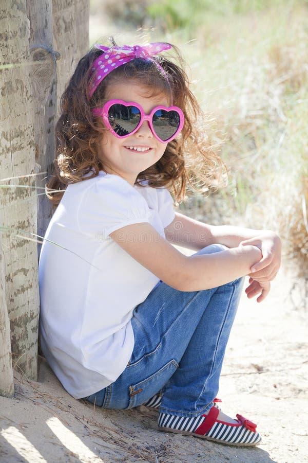 Criança das férias de verão fotos de stock royalty free