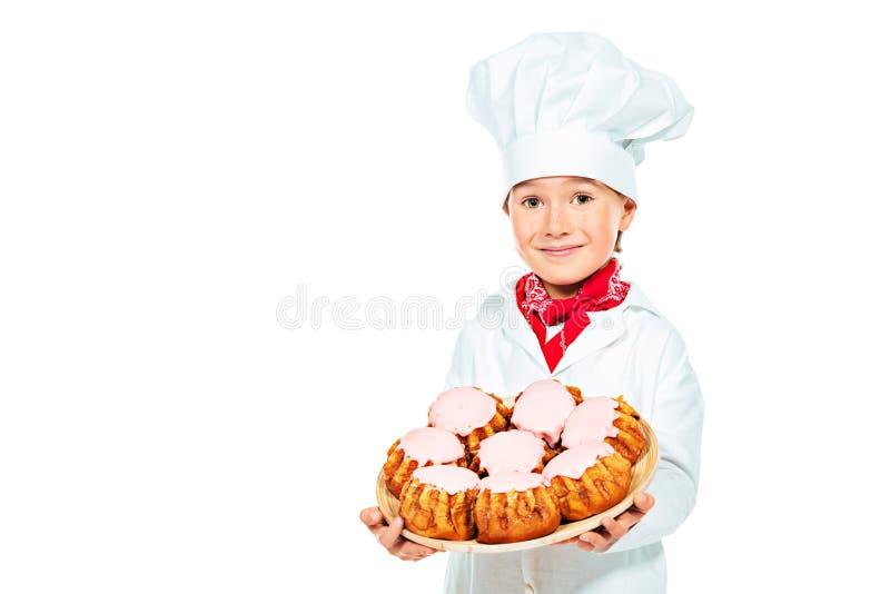 Criança das pastelarias imagens de stock royalty free