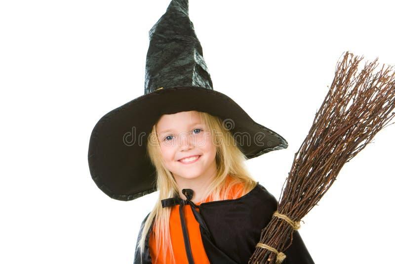 Criança de Halloween imagens de stock