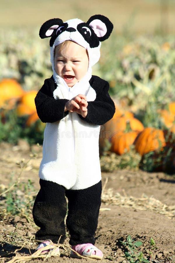 Criança de Halloween imagem de stock