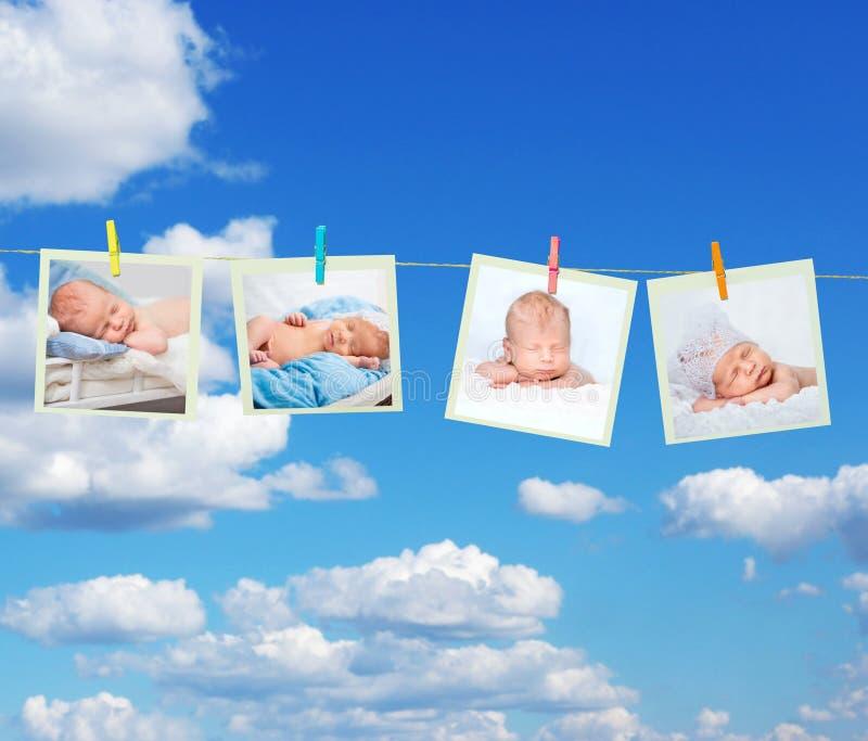Criança de sono pequena imagens de stock royalty free