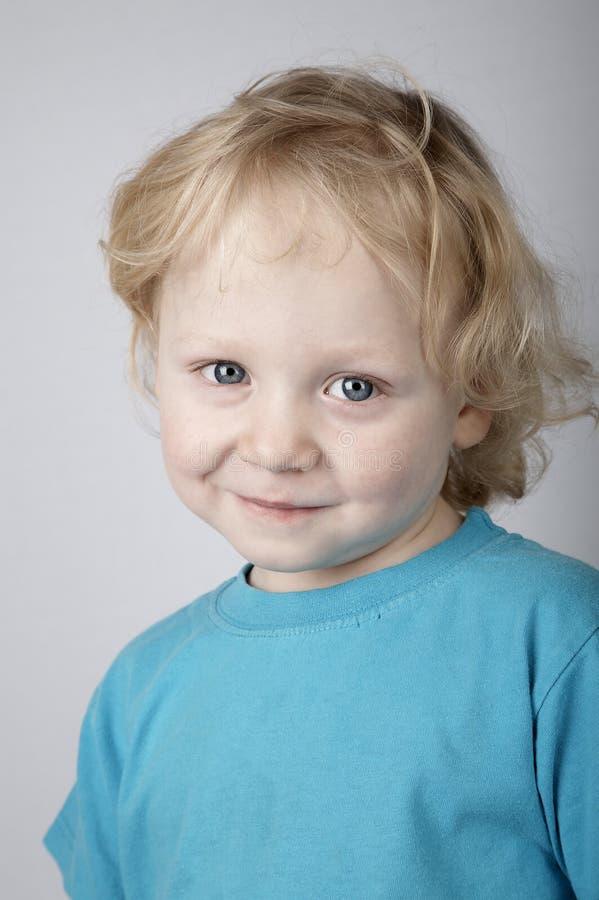 Criança de sorriso imagens de stock
