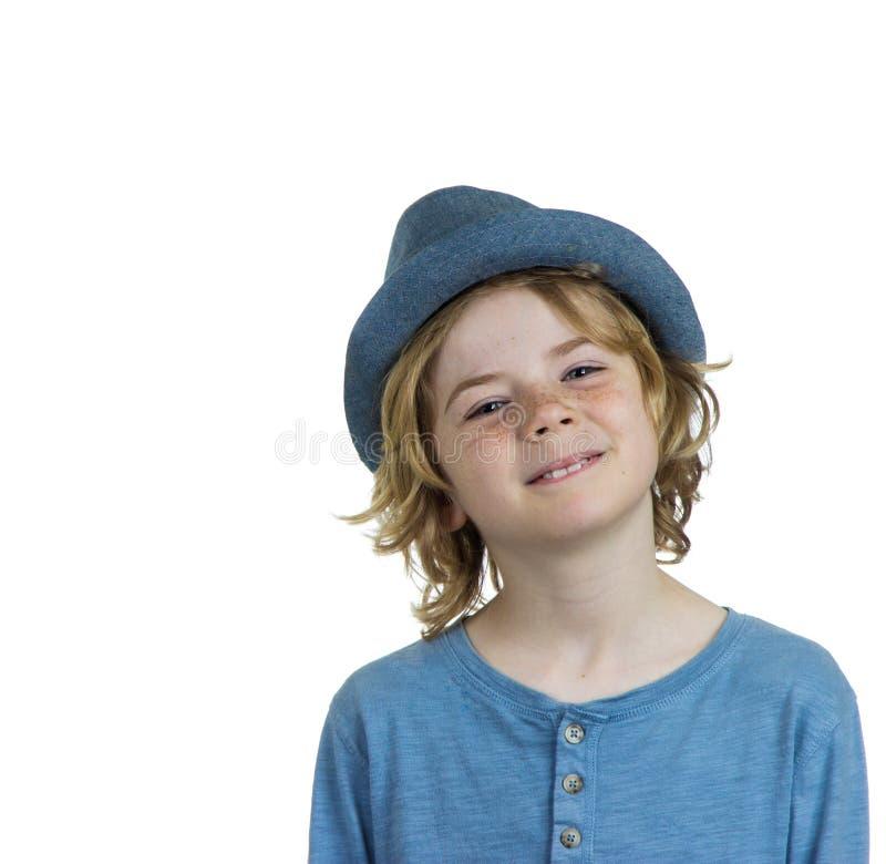 Criança de sorriso bonito do menino fotos de stock