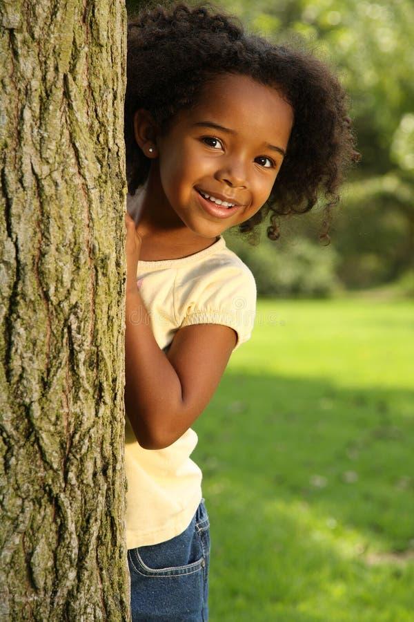Criança de sorriso brincalhão imagem de stock royalty free