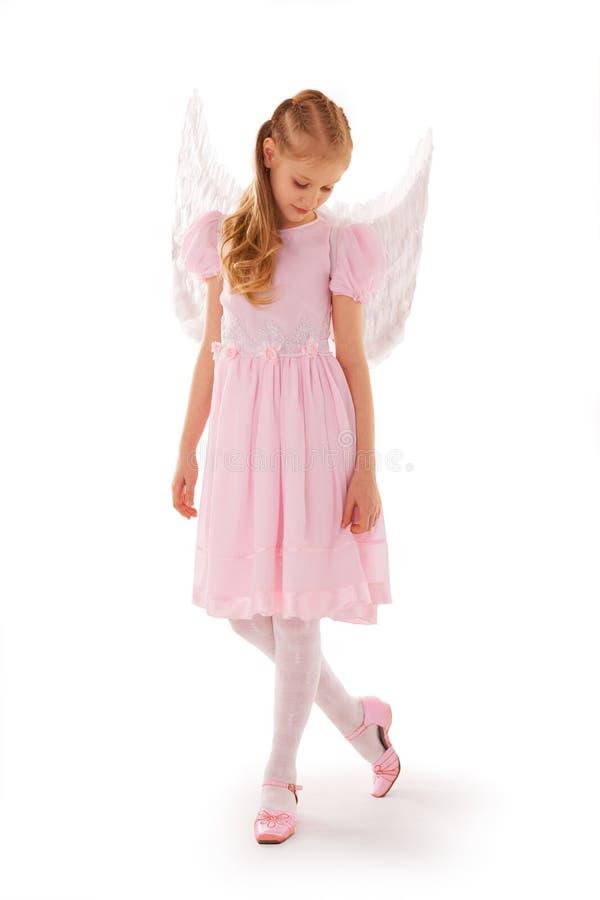 Criança do anjo fotografia de stock royalty free