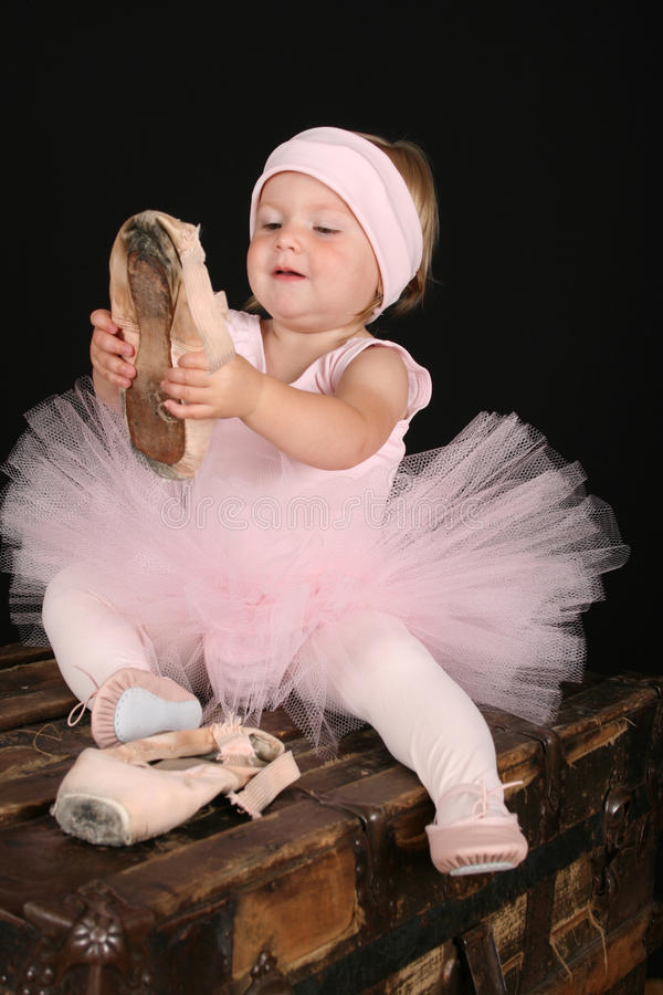 Criança do bailado fotos de stock royalty free