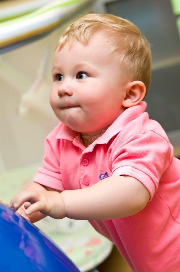 Criança do bebé fotos de stock royalty free