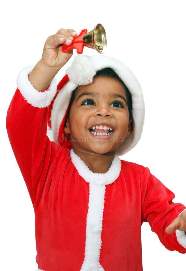 Criança do mulato em um fundo branco imagens de stock royalty free