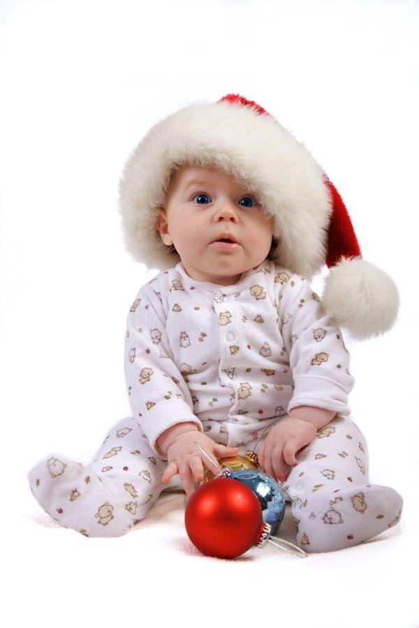 Criança do Natal fotos de stock royalty free