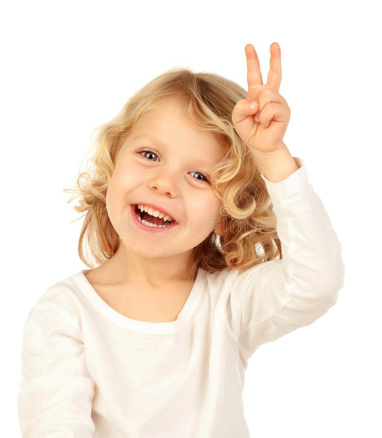 Criança do vencedor imagens de stock
