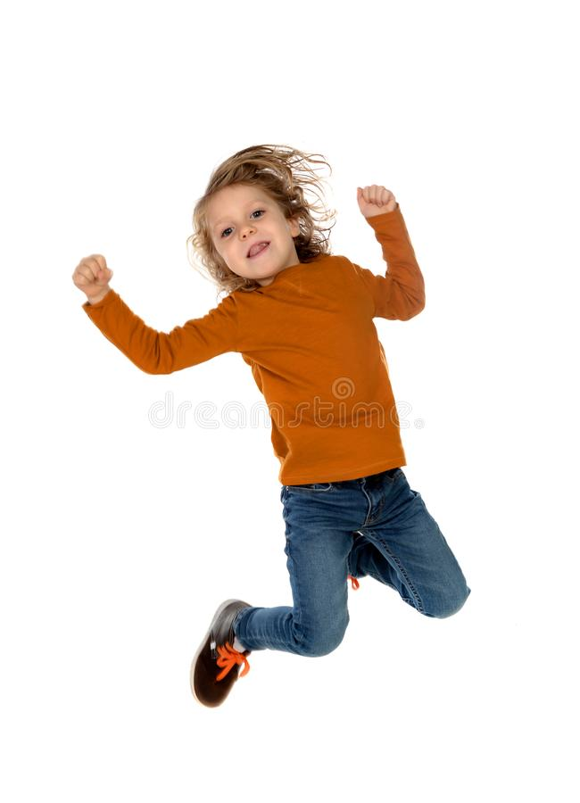 Criança do vencedor foto de stock