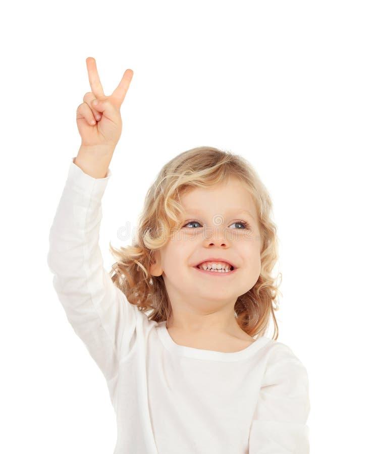Criança do vencedor foto de stock royalty free