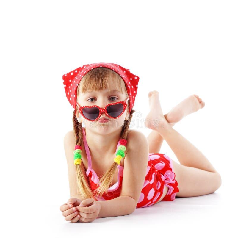 Criança do verão fotos de stock royalty free