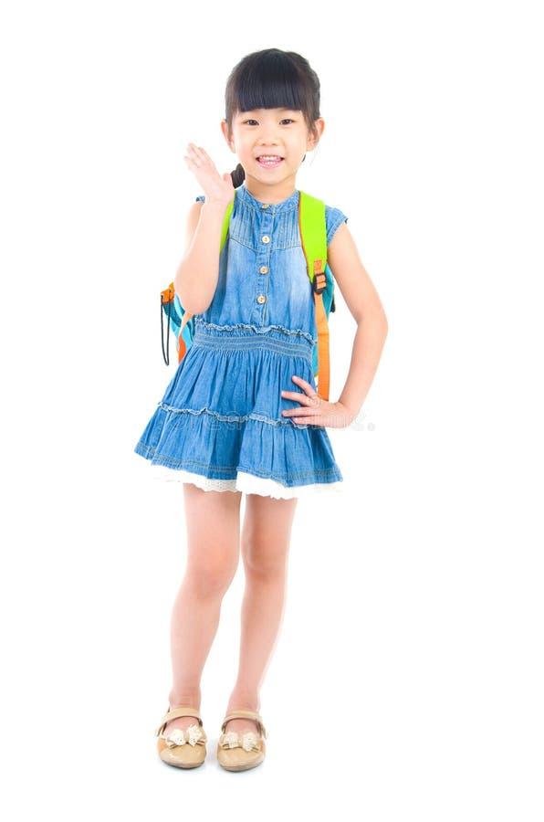 Criança em idade pré-escolar asiática imagem de stock royalty free