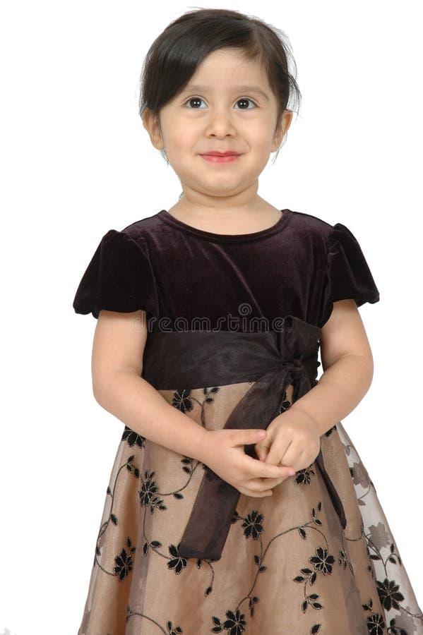 Criança espanhola feliz fotografia de stock royalty free